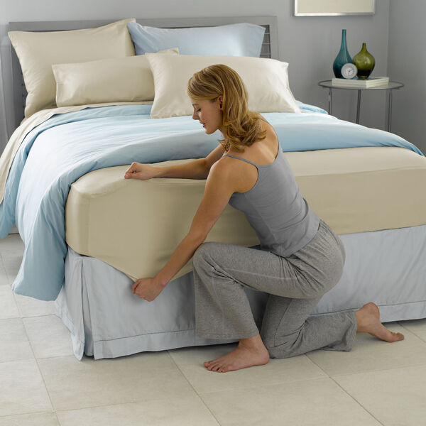 Best Fit!® Sheet Set Chamomile Lifestyle Image