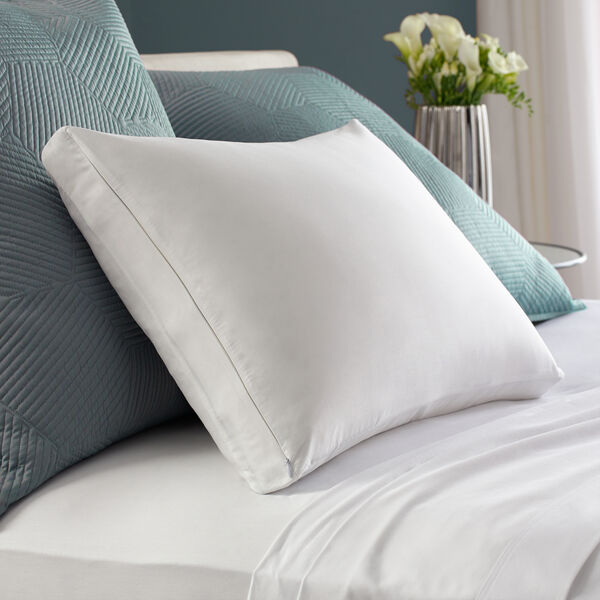 Gusset Pillow Protector for Bed Pillows Lifestyle Image