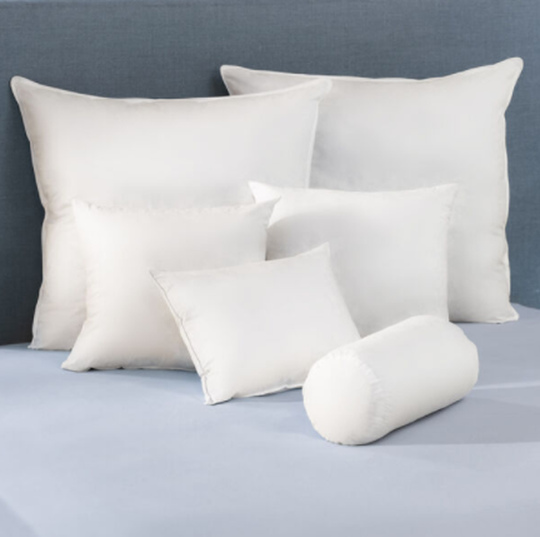 Feather Inset Pillows - Lifestyle