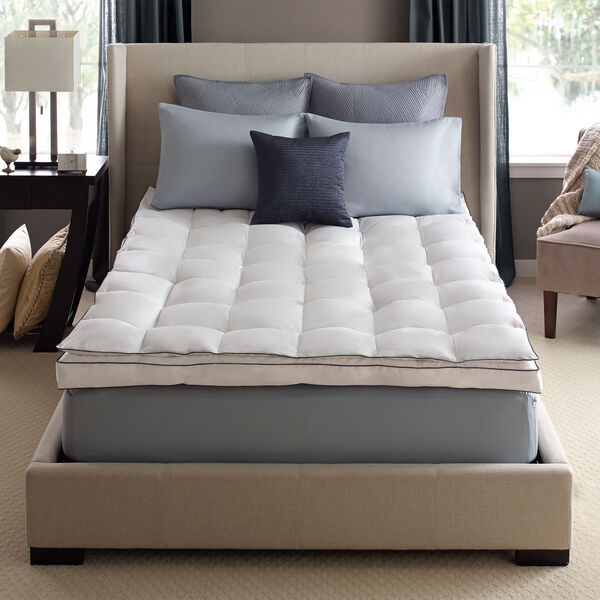 Down on Top Feather Bed Mattress Topper Lifestyle Image