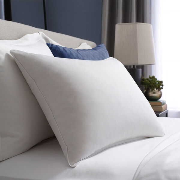 Hotel White Goose Down Luxury Pillow Bed Pillows Lifestyle Image
