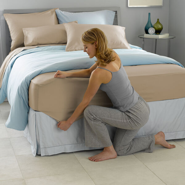 Best Fit!® Sheet Set Cappuccino lifestyle image