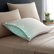 Double DownAround Soft Pillow Bed Pillows Illustration