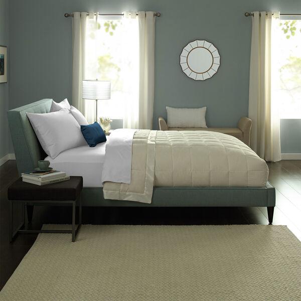 Cream Down Blanket Lifestyle Image