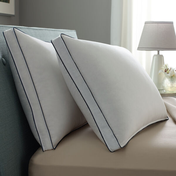Double DownAround Medium 2 Pack Pillow Bed Pillows Lifestyle Image