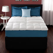 Deluxe Lumbar Feather Bed Mattress Topper Lifestyle Image