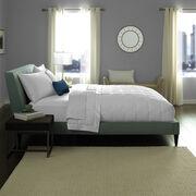Hotel White Goose Down Blanket Lifestyle Image