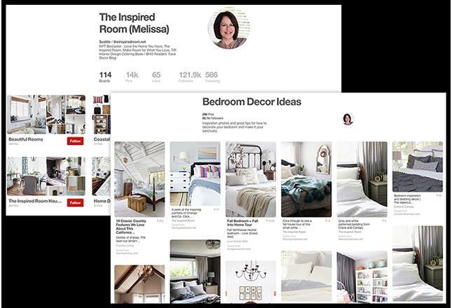 Pinterest The Inspired RoomBoard