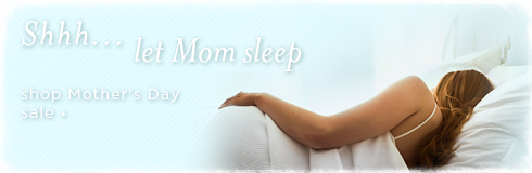20% off mother's day bedding