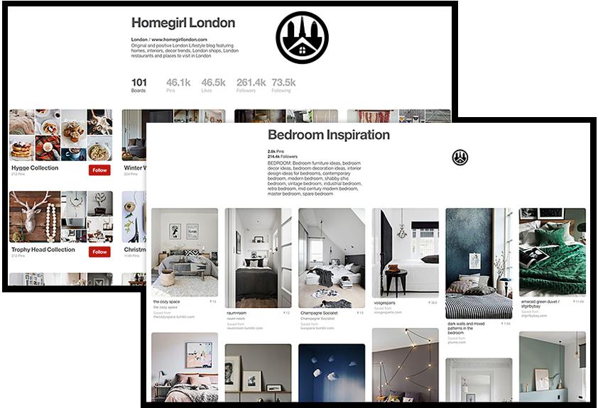 Pinterest Homegirl London Board
