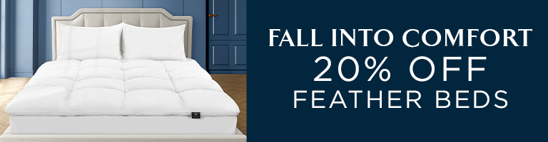 20% Off Feather Beds