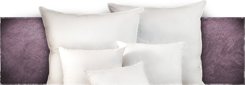Pillow Sizes Header