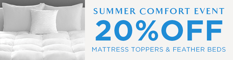 20% Mattress Toppers & Feather Beds