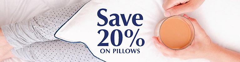 Sale - 20% Off Pillows