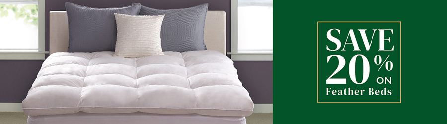Sale - Save 20% On Feather Beds