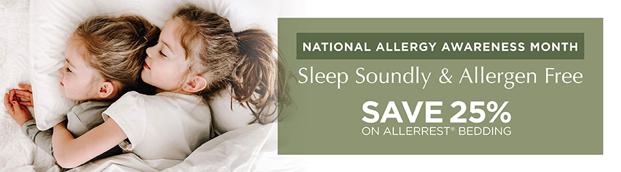 Sale - Save 25% On AllerRest® Bedding