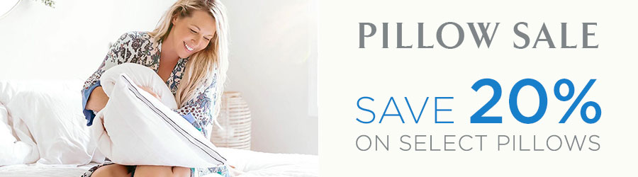 Pillow Sale - 20% Off Pillows