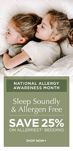 Save 25% On Allerrest Bedding - Shop Now