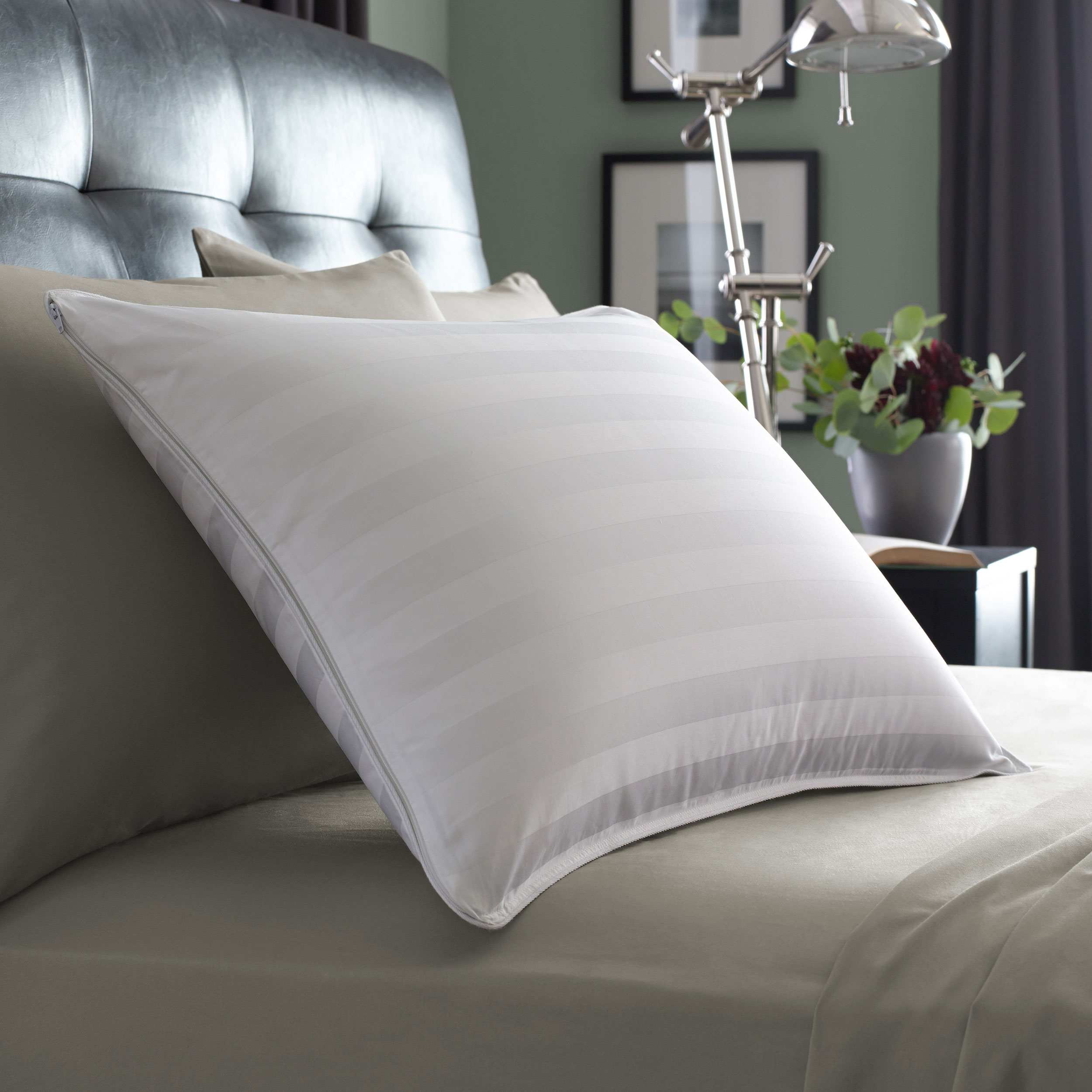 goose gusset pillow protectors with down pin home st james