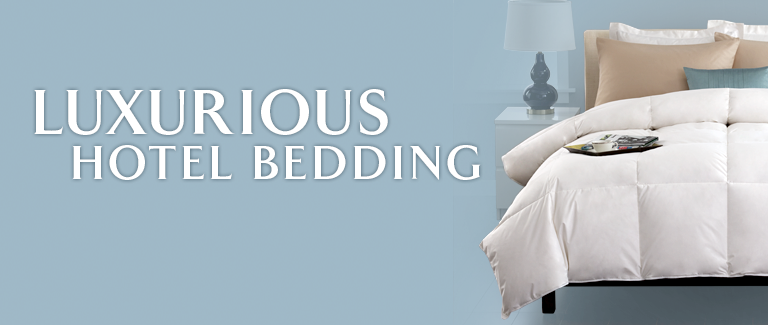 Luxurious Hotel Bedding