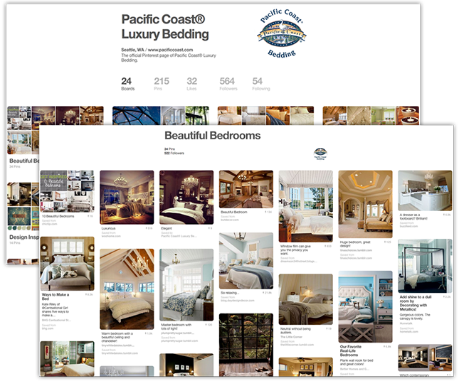 Pinterest Pacific Coast Board