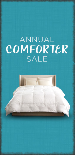 Shop annual comforter sale