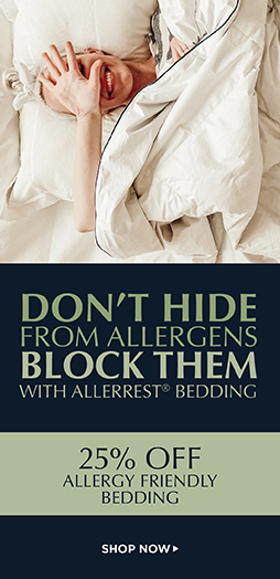 25% Off Allergy friendly Bedding - Shop Now