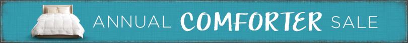 Shop Annual Comforter Sale