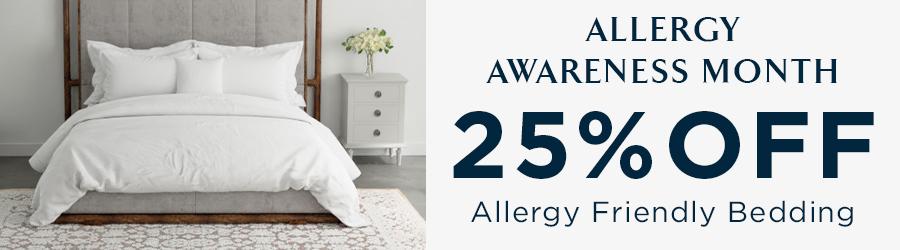 Sale - 25% Off AllerRest Bedding