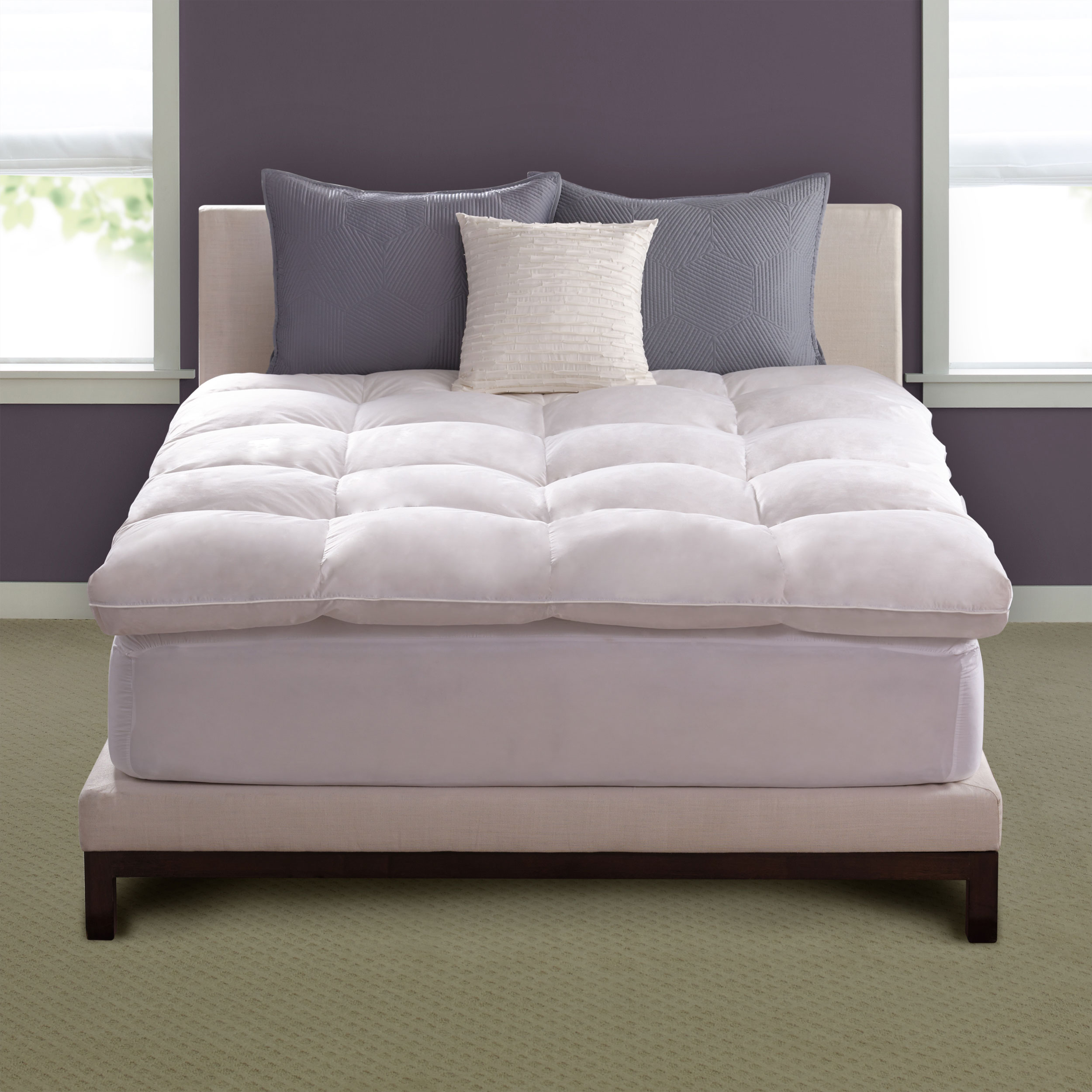 Shop Hotel Collection White Feather Bed