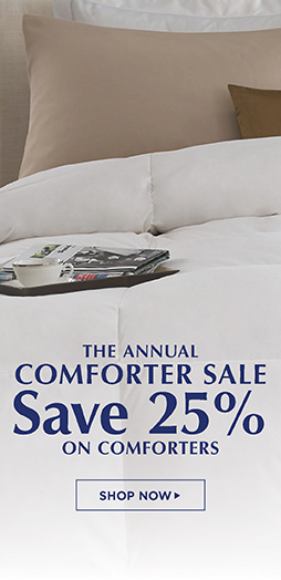 Save 25% On All Comforters - Shop Now