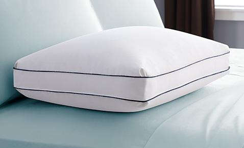 A pillow on bed