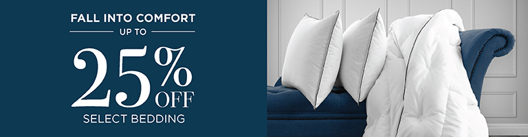 Sale - 25% Off Select Bedding