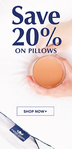 Save 20% On All Pillows - Shop Now