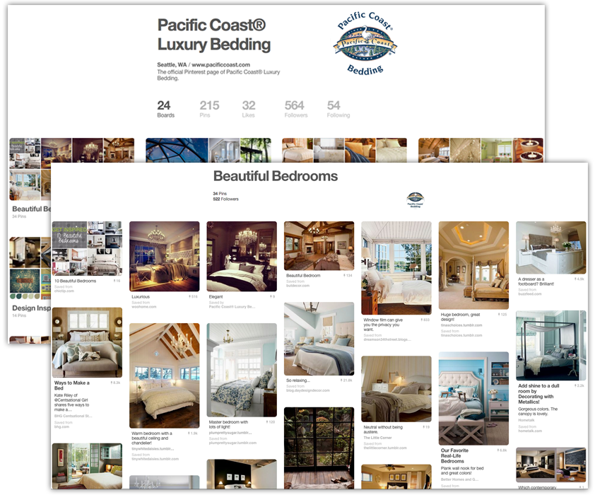 Pinterest Pacific Coast Board