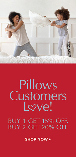 Buy 1 Pillow At 15% Off Buy 2 Pillows At 20% - Shop Now