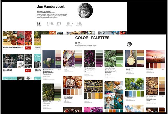 Pinterest Jen Vandervoort Board