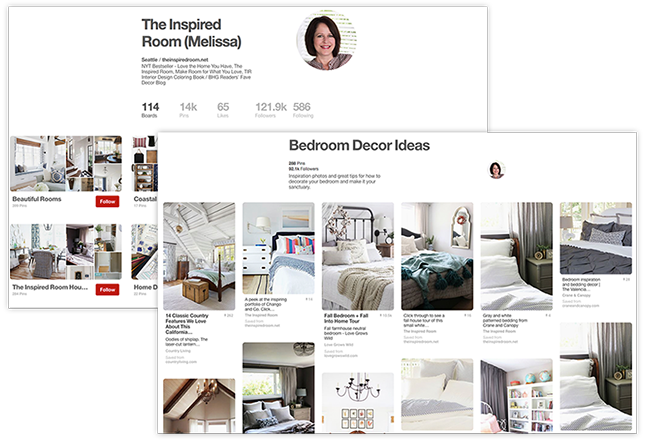 Pinterest The Inspired RoomBoard