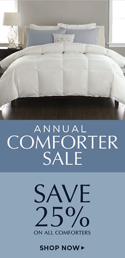 Annual Comforter Sale - Shop Now