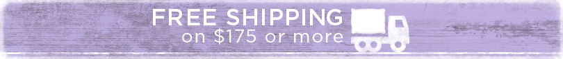 Free shipping on $175
