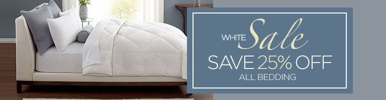White Sale - Save 25% on Everything
