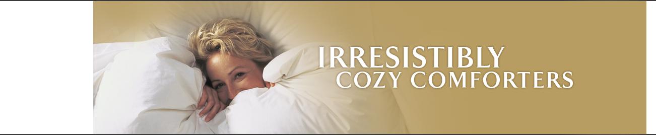 Irresistibly Cozy Comforters